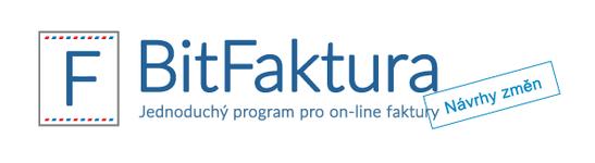 BitFaktura.cz - Návrhy změn