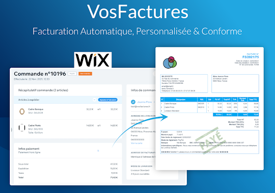 App Facturation WIX